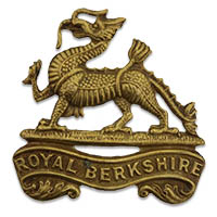 Berkshire Regiment cap badge